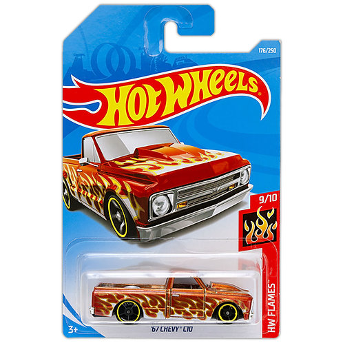 HW FLAMES - '67 Chevy C10