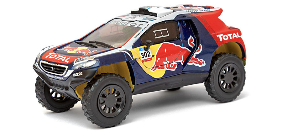 LUPPA - DAKAR COLLECTION: Peugeot 2008 DKR (2015)