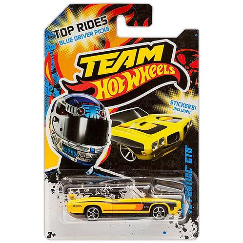 TEAM HOT WHEELS - '70 Pontiac GTO