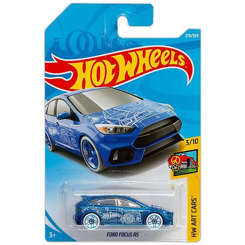 HW ART CARS - Ford Focus RS