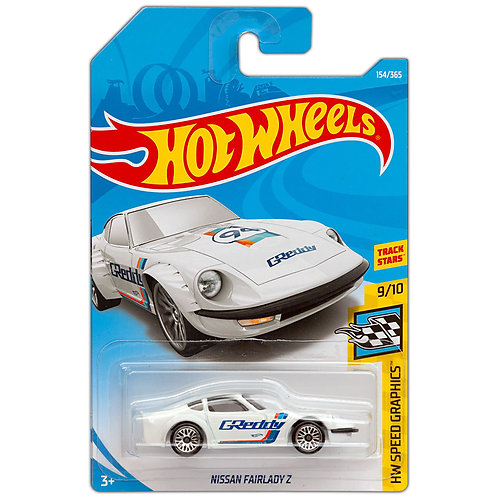 HW SPEED GRAPHICS - Nissan Fairlady Z (Blanco)