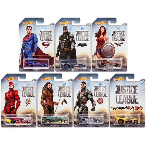 JUSTICE LEAGUE COLLECTION (7 Pack)