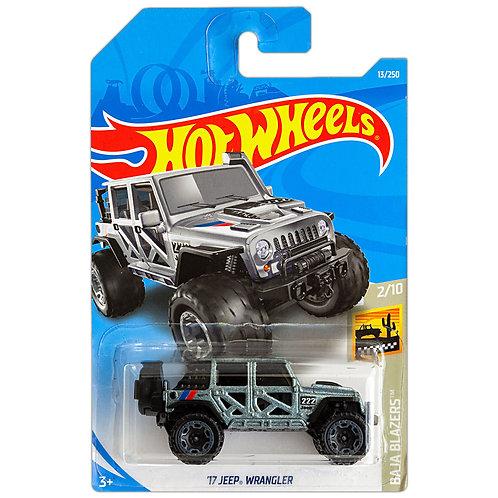 BAJA BLAZERS - '17 Jeep Wrangler (plateado)