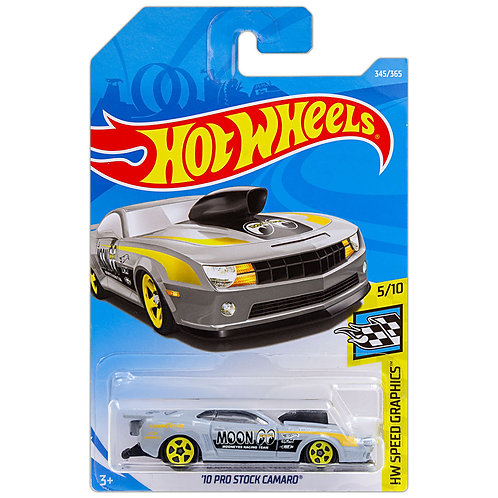 HW SPEED GRAPHICS - '10 Pro Stock Camaro (gris)