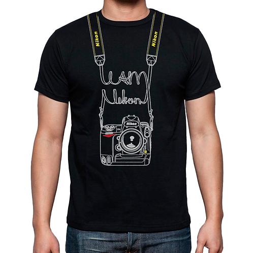 Camiseta 'I am Nikon' (Hombre)