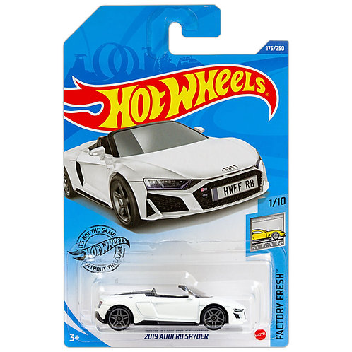 FACTORY FRESH - 2019 Audi R8 Spyder (blanco)