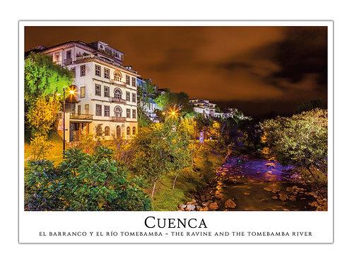 Cuenca - Río Tomebamba de Noche