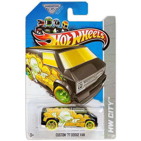 HW CITY - Custom '77 Dodge Van (2013)