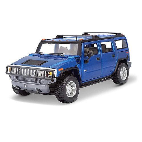 2003 Hummer H2 SUV (azul)