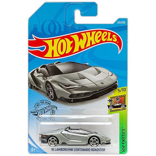 HW EXOTICS - '16 Lamborghini Centenario Roadster (gris)