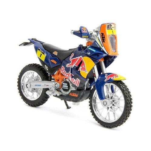 KTM 450 Rally Dakar (empaque defectuoso)