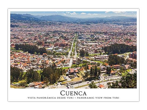 Cuenca - Vista Panorámica desde Turi