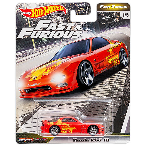 FAST & FURIOUS - Fast Tuners: Mazda RX-7 FD