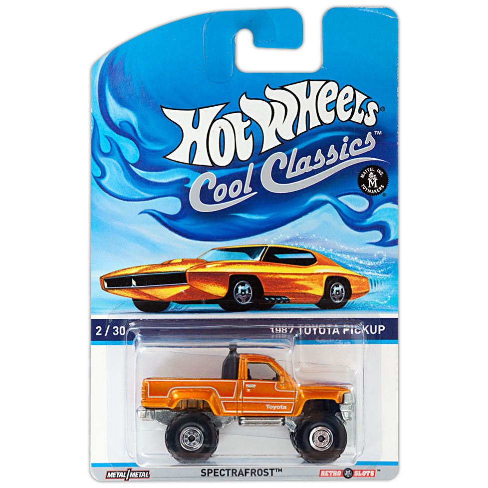 COOL CLASSICS - 1987 Toyota Pickup (Orange)