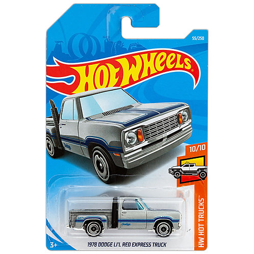 HW HOT TRUCKS - 1978 Dodge LI'L Red Express Truck