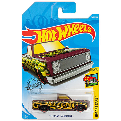 HW ART CARS - '83 Chevy Silverado