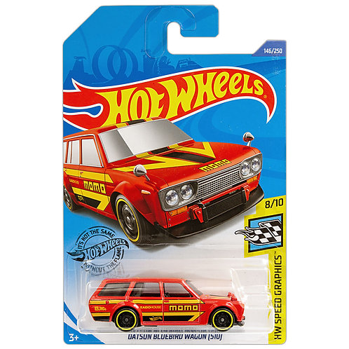 HW SPEED GRAPHICS - Datsun Bluebird Wagon (510)