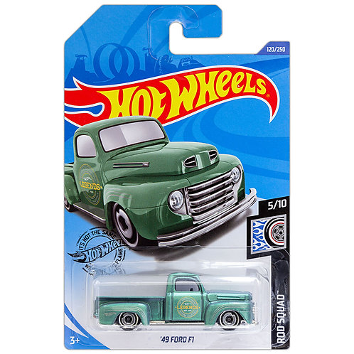 ROD SQUAD - '49 Ford F1 (verde)