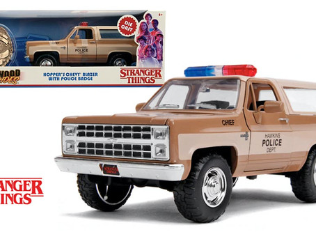 Review: Jada - Hollywood Rides 'Stranger Things' Hopper's Chevy Blazer