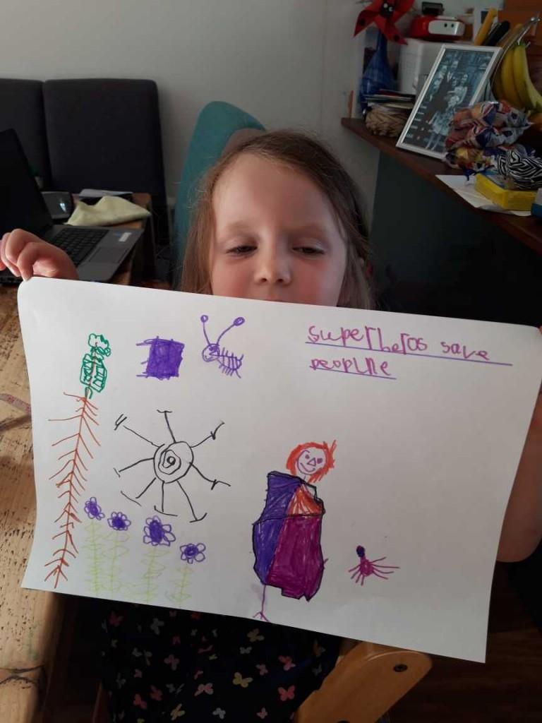 Thea's superhero