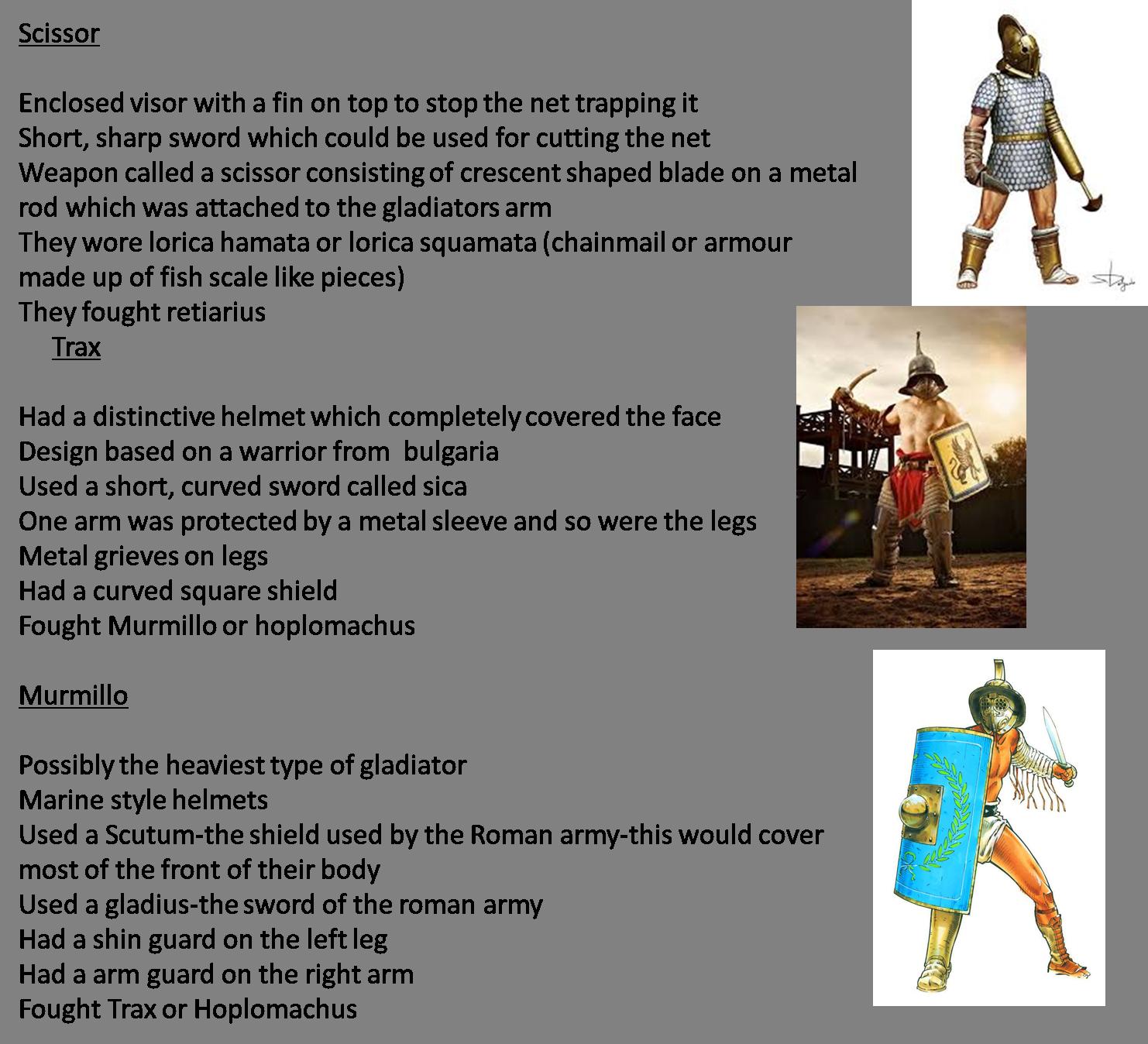 Michael Gladiators 2