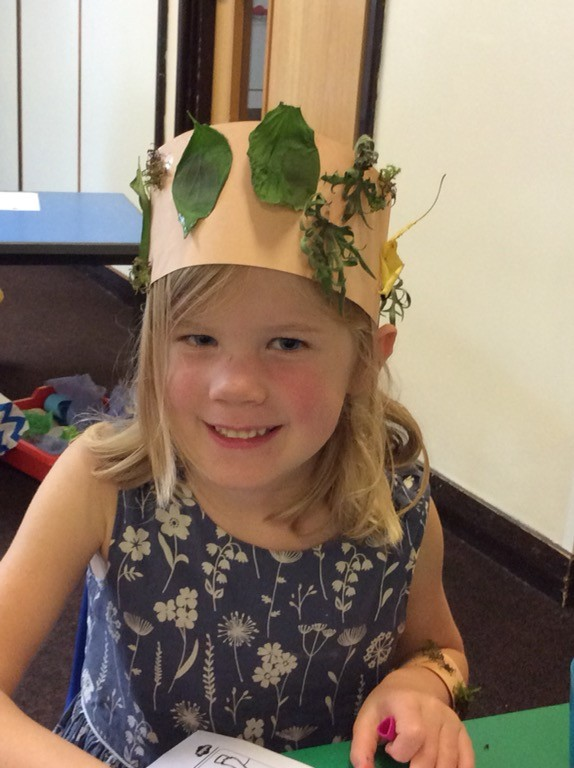 Emma nature crown