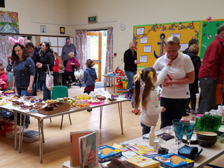 St Giles School, Matlock held their school Easter Fayre on Saturday 19th March