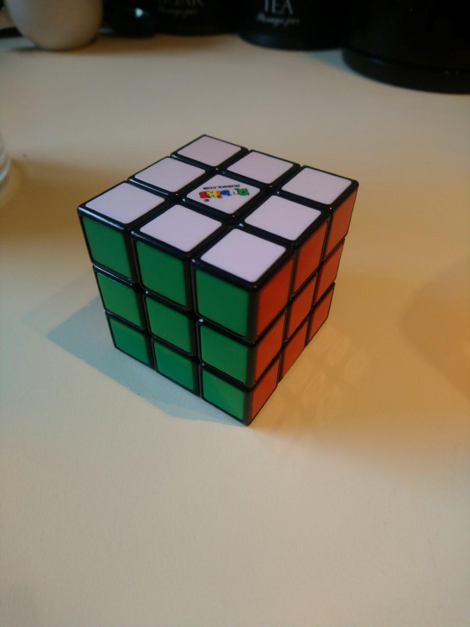 Dylan Rubik cube