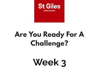 #3 6 Week Challenge!