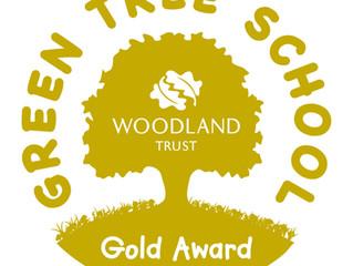 Green Tree Schools Award - Gold!