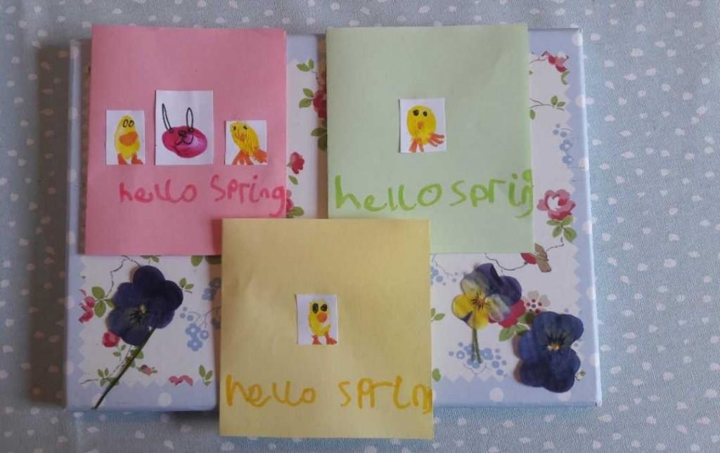 Isla's Spring cards