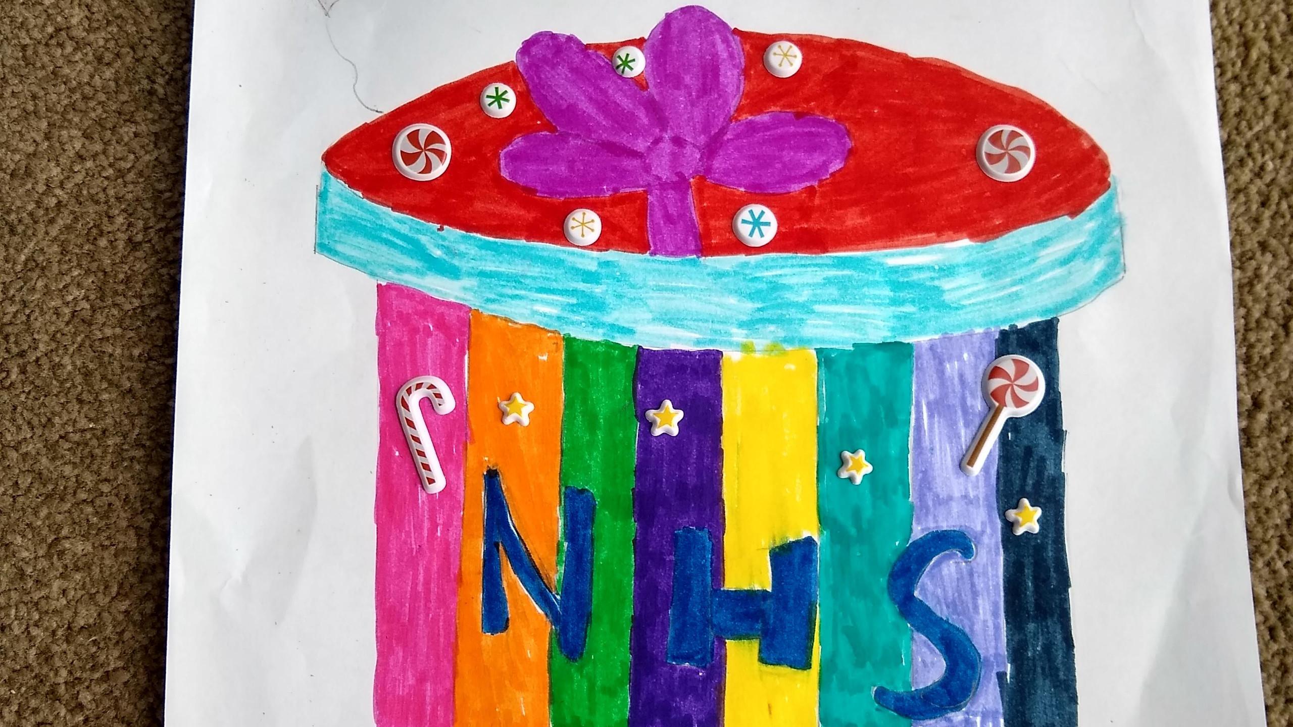 Roberta sweet package for NHS