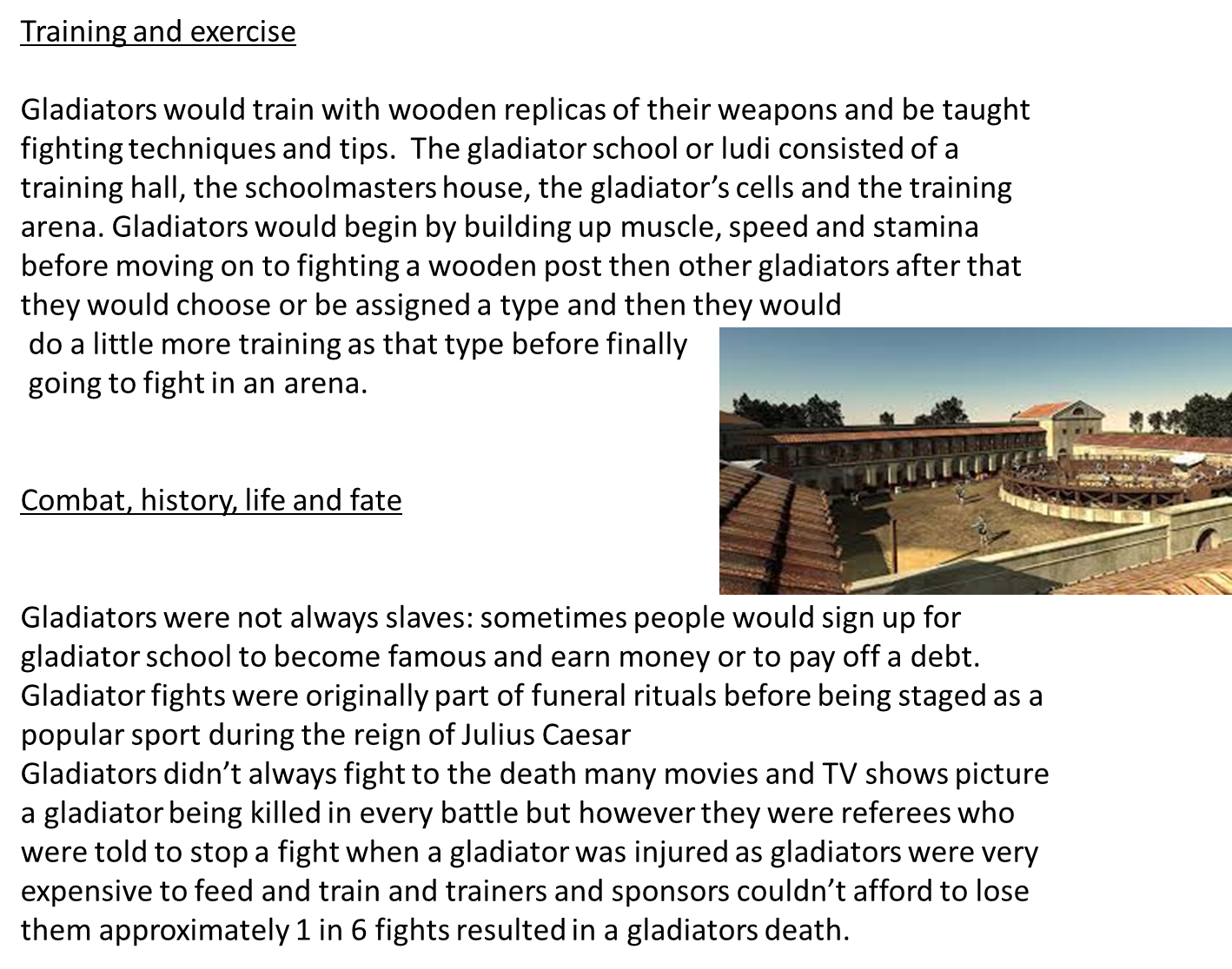 Michael Gladiators 4