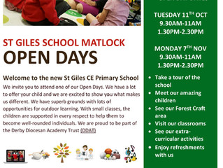 Open Days at St Giles