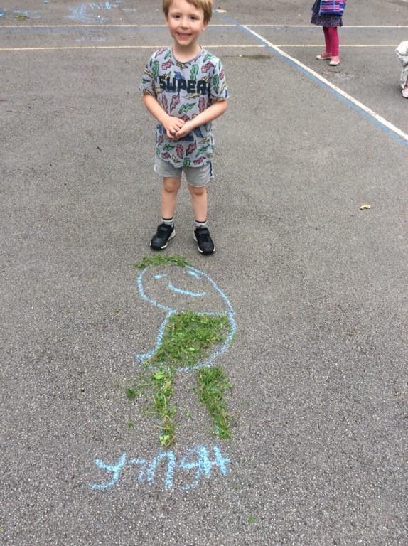 Henry outdoor art