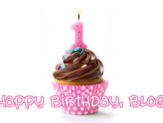 Happy 1st Birthday Blog!