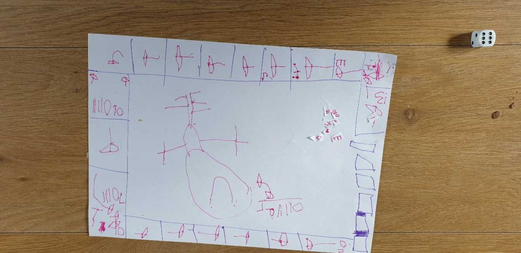 Oliver's maths game