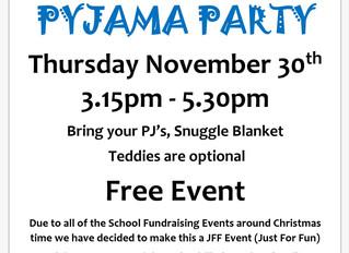 Popular Pyjama Party