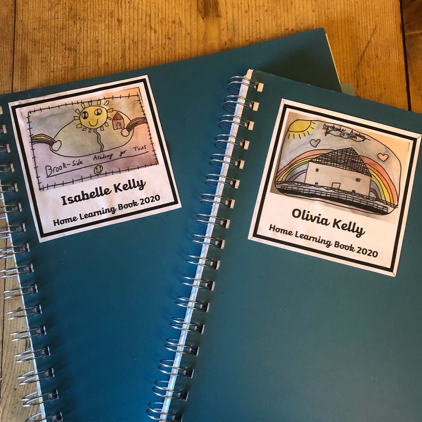 home learning journals