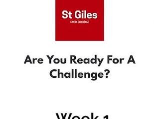 #1 of 6 Week Challenge!