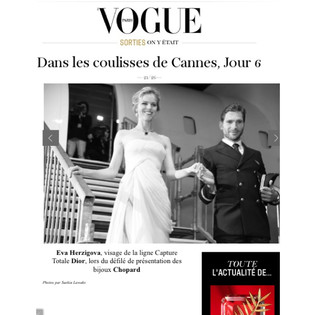 Defilé Chopard, festival international du film de Cannes