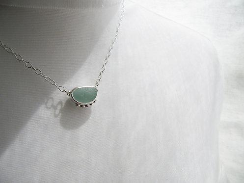One of a Kind Aqua Necklace