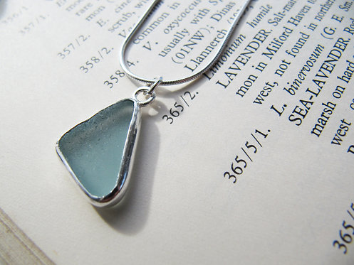 Long Sea Glass Necklace
