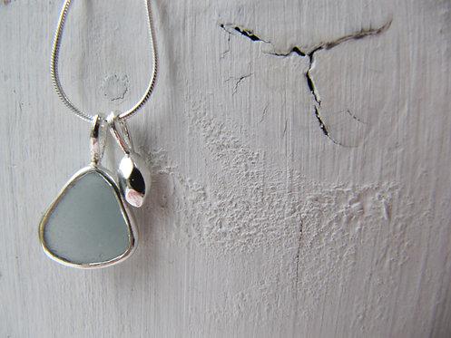 Eco Mermaid's Tear Charm Necklace