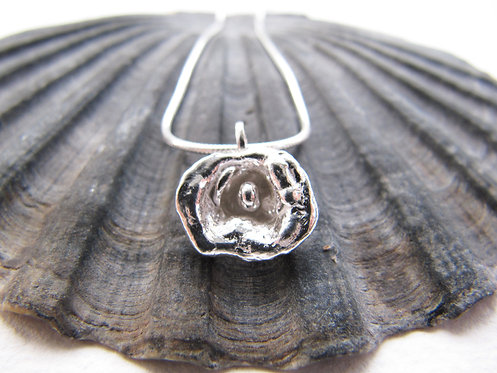 Recycled Silver 'Flower' Necklace