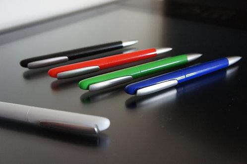 Stylos Solution (Blanc, noir, bleu, rouge, vert)