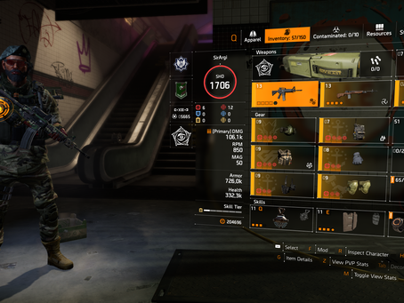 Division 2 Builds: AR Crit/ToC