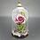 Thumbnail: Purple Rose in Glass Jar