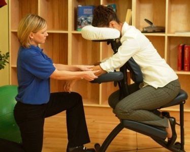 On site Chair Massage, In office Chair Massage