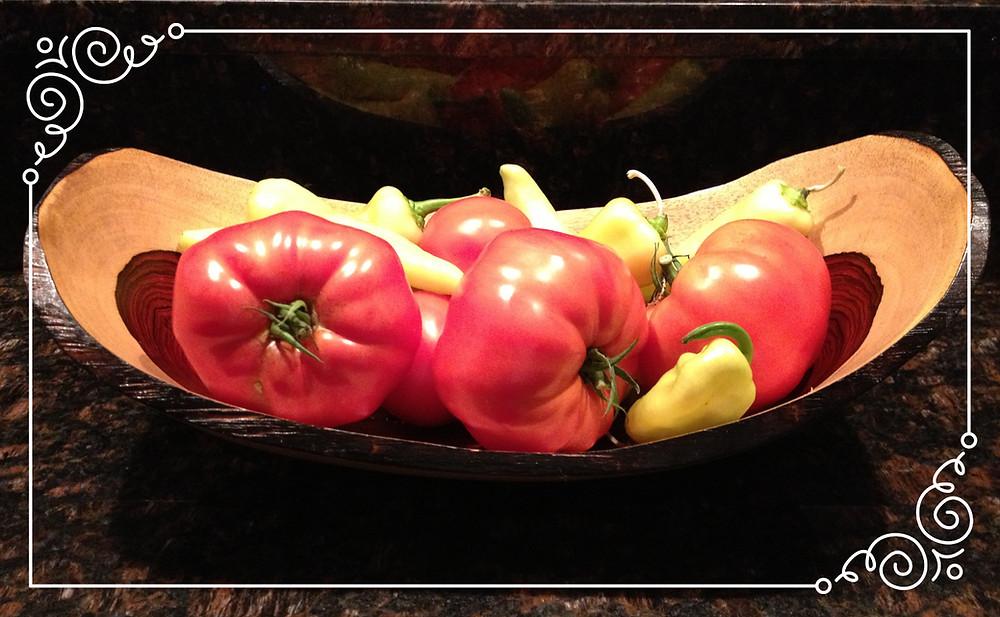 Cherokee Heirloom tomatoes